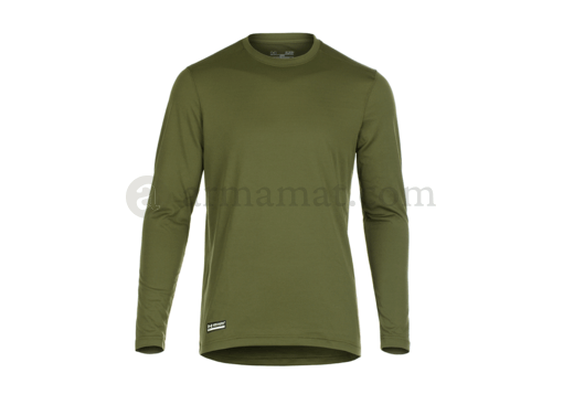 UA Tactical HeatGear Tech Long Sleeve Tee OD (Under Armour) L