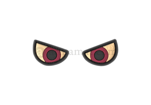 Angry Eyes Rubber Patch Color (JTG)