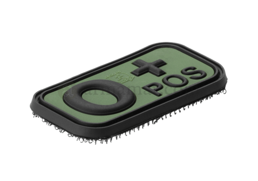 Bloodtype Rubber Patch 0 Pos Forest (JTG)