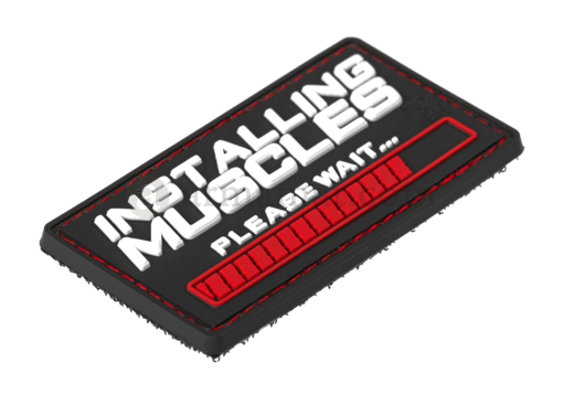 Installing Muscles Rubber Patch Color (JTG)