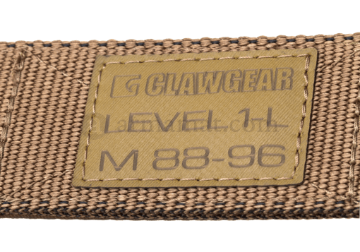 Level 1-L Belt Coyote (Clawgear) S