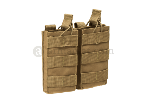 M4 Double Open-Top Mag Pouch Coyote (Condor)