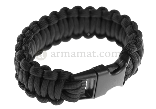 Paracord Bracelet Black (Invader Gear)