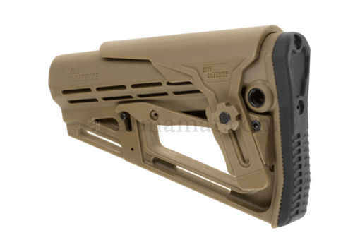 TS-1 Tactical Stock Mil Spec with Cheek Rest Tan (IMI Defense)