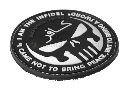 The Infidel Punisher Rubber Patch Color (JTG)