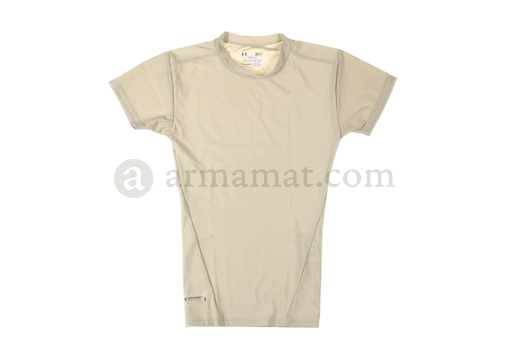 UA Tactical HeatGear Compression Tee Beige (Under Armour) L
