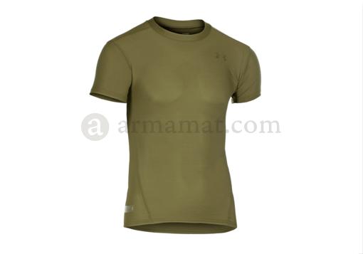 UA Tactical HeatGear Compression Tee OD (Under Armour) L