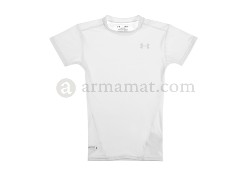 UA Tactical HeatGear Compression Tee White (Under Armour) L