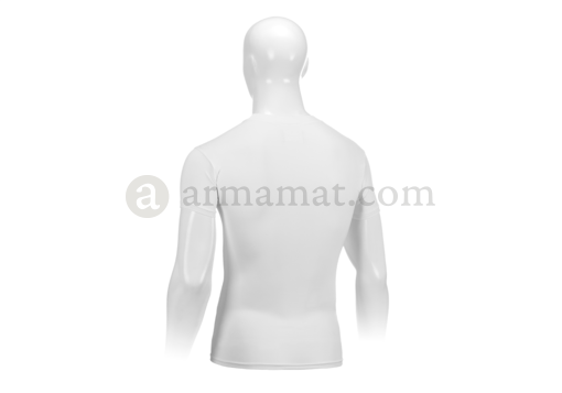UA Tactical HeatGear Compression Tee White (Under Armour) M