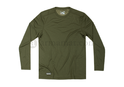 UA Tactical HeatGear Tech Long Sleeve Tee OD (Under Armour) M
